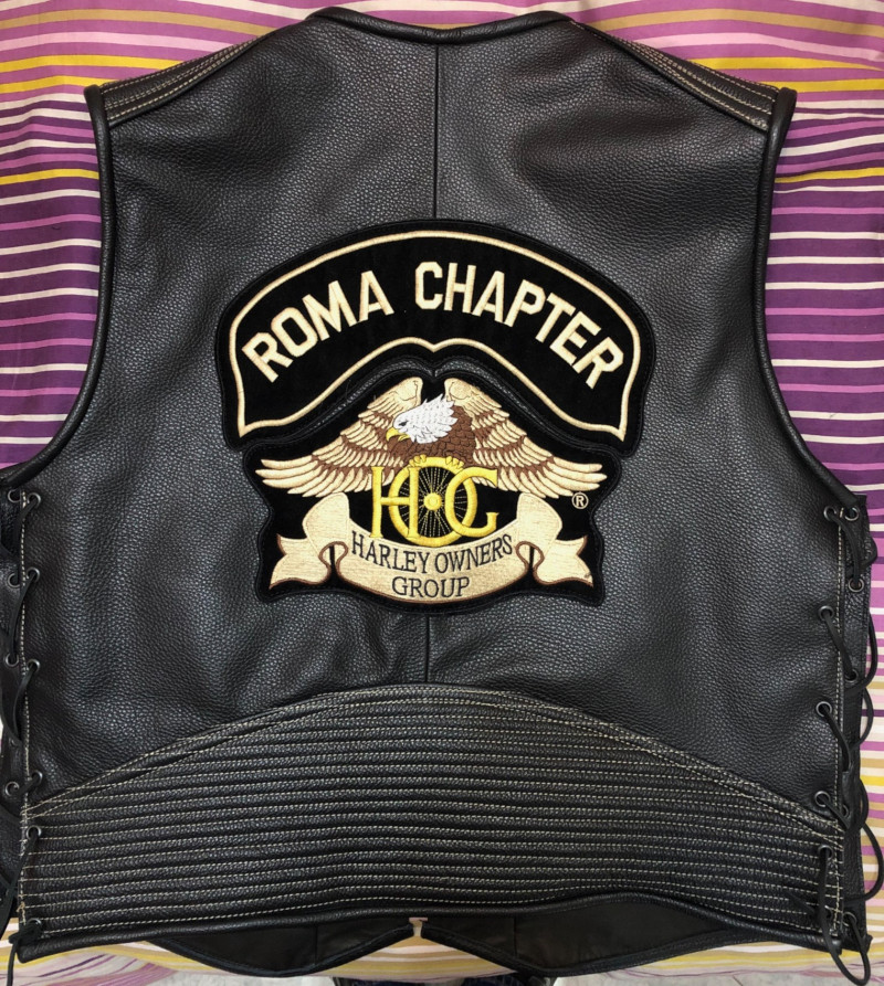 Gilet Roma Chapter Back