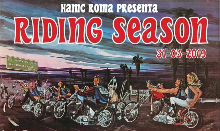 Riding Season 2019 HAMC
